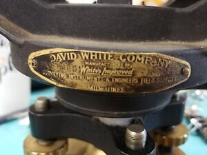 Vintage David White Instruments Level Transit W Case