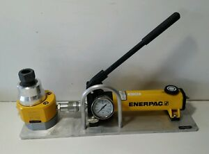 Enerpac P142 10 000 Psi Hydraulic Hand Pump With Rsm300