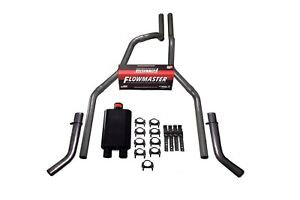 04 14 Ford F 150 Truck 2 5 Dual Exhaust Kit Flowmaster 40 Series Corner Exit