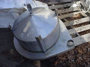 20 Gallon Cone Bottom Stainless Steel Tank Mix Or Storage