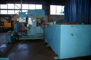 Doall Plate Saw 25 Vertical Bandsaw Model 2608nc 50 Plate Width X 13 Length