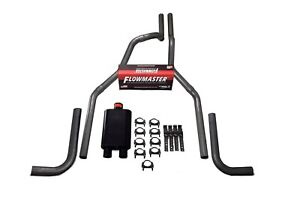 04 14 Ford F 150 Truck 2 5 Dual Exhaust Kit Flowmaster 40 Series Side Exit