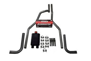87 97 Ford F 150 Truck 2 5 Dual Exhaust Kit Flowmaster 40 Series Side Exit