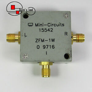 1 Mini circuits Zfm 1w 10 750mhz Sma Rf Microwave Coaxial Frequency Mixer