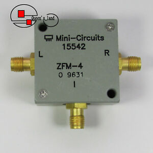 1 Mini circuits Zfm 4 5 1250mhz Sma Rf Microwave Coaxial Frequency Mixer