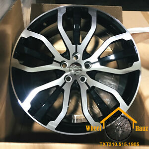 22 Wheels For Range Rover Sport Discovery Hse Supercharged 22x9 5