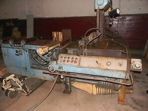 14 Thrt 21 H Doall Tf 14 Ha Vertical Band Saw Tilt Frame Hydraulic