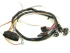 1967 Camaro Console Wiring Harness Manual W Console Gauges
