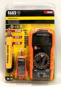 New In Box Sealed Klein Tools Electrical Test Kit 69149 Mm300 Ncvt 1 Rt105