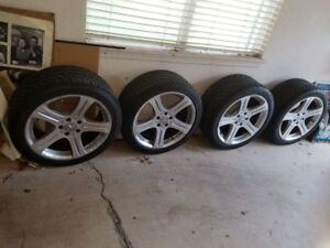Tires And Wheel Package Used 4 Tires 4rims Mercedes Cls500 2006 405 8235564