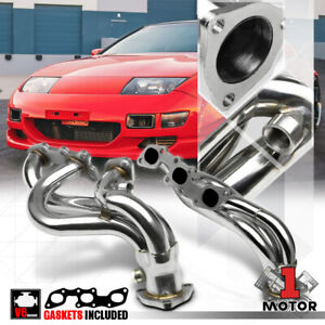 Stainless Steel Exhaust Header Manifold For 90 96 Nissan 300zx Na Z32 Non Turbo