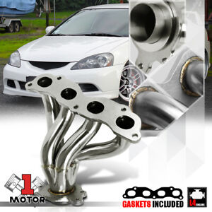 Stainless Steel Exhaust Header Manifold For 02 06 Rsx Dc5 05 Civic Si Ep3 K20a3