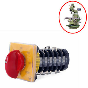 Import Forward Reverse High And Low Speed Universal Switch Milling Machine Part
