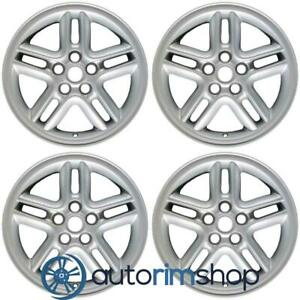 Land Rover Discovery 18 Factory Oem Wheels Rims Set Silver