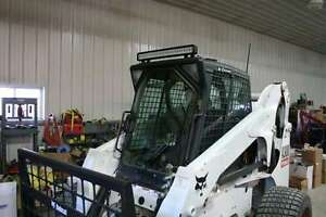 Bobcat S150 S160 S175 S205 S250 S300 1 2 Door And Cab Lexan Skid Steer Poly