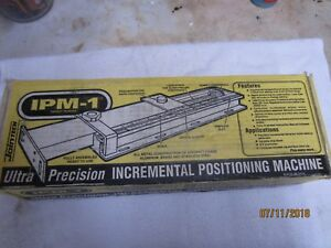 Jointech Incremental Positioning Machine Ipm 1 In Original Box