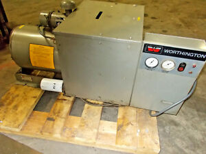 Worthington 10 H p Rotary Screw Air Compressor