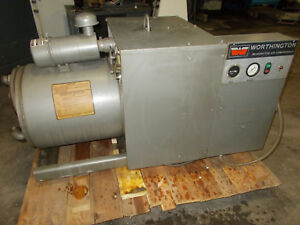 Worthington 25 H p Rotary Screw Air Compressor