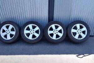 Mercedes 255 55r18 Inch 4 Wheels Rims W Tires