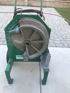 Greenlee 555 Pipe Bender Machine W Shoe 1 1 2 To 2