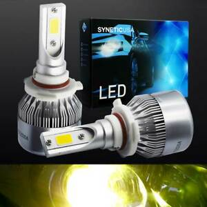 Yellow 9005 100w Cree Led Fog Lamp Conversion Kit Light Bulbs All In One