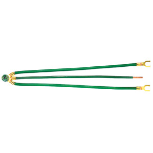 Ideal 30 3286 12 Awg Green Solid Combination Grounding Tail