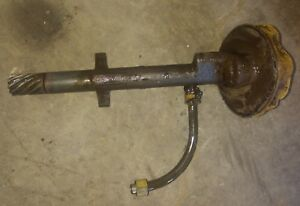 Allis Chalmers Wd Wc Ac Tractor Engine Motor Oil Pump Assembly Part