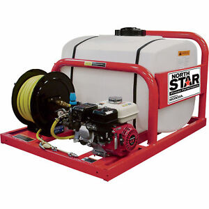 Northstar Pest Control Skid Sprayer 100 Gallon Tank 160cc Honda Gx160 Engine