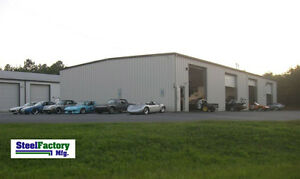 Prefab Metal Commercial Building 60x100x16 Steel Factory Mfg Us Made Low Prices