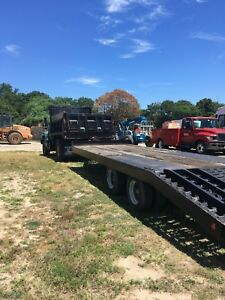 1991 Talbert Tb20 20 Ton Equipment Trailer With Air Brakes In Good Condition
