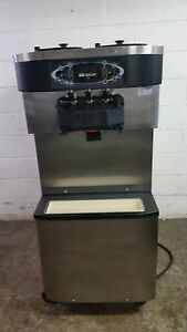 Taylor C713 27 2 Flavor Twist Soft Serve Ice Cream Machine Tested Water Cooled