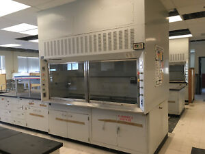8 St Charles Fume Hoods With Base Cabinets Hood Dims 96 W X 36 H X 22 Deep