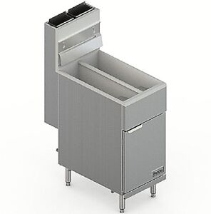 Pantin Commercial Double Well Stainless Steel Gas Deep Fryer Pgf 120t 21349