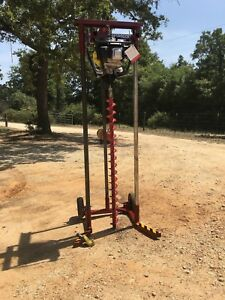 Deeprock Portable Auger Series Model 2018 Soil Sampling Rig Or Post Holes Ect