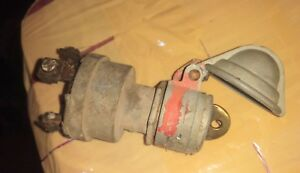 Farmall 400 Tractor Key Switch With Cover Ihc 300 350 450 Switch 460 560