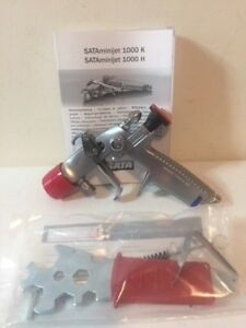 Genuine Sata Jet Minijet 1000 K h Rp 1 1 Automotive Spray Gun Sataminijet W dock