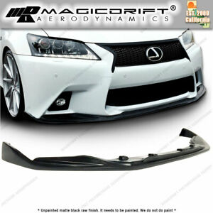 For 13 14 15 Lexus Gs350 F sport Only Sk Skp Style Front Bumper Chin Spoiler Lip