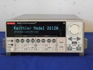 Keithley 2612a Sourcemeter 200v 10a Pulse 2 Channel Tested