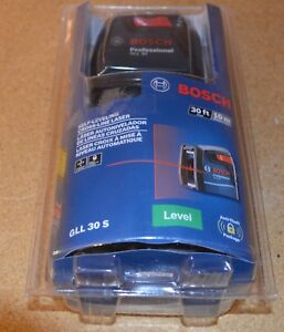 Bosch Gll30s Self leveling Cross line Laser Level