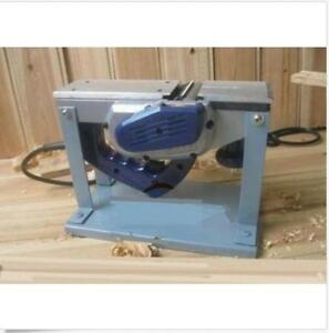 220v Small Flat Planning Machine Electric Planer Portable Planer Woodw