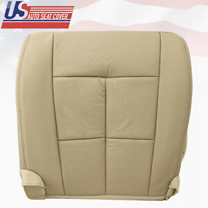 2007 2014 Lincoln Navigator Luxury Pckg Front Left Bottom Leather Seat Cover Tan