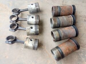 Allis Chalmers Wd Tractor Pistons Rods Sleeves 4 Bore Wc