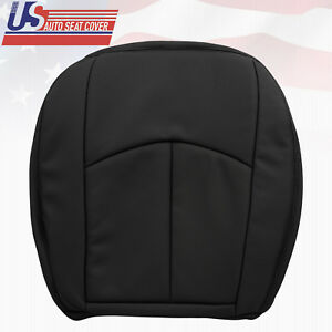 2006 2007 2008 2009 Mercedes E350 Driver Bottom Perforated Seat Cover Black