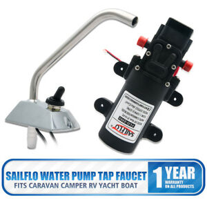 Sailflo 12v Self priming Galley Electric Water Pump Faucet tap Boat caravan Rv