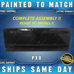 New painted Px8 Black Tailgate Assembly W Lock For 10 18 Ram 1500 2500 3500