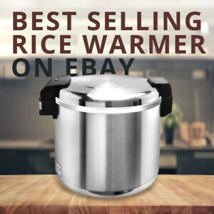 Pantin 100cup 50cup Raw Commercial Electric Stainless Steel Rice Warmer Nsf Etl