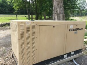 Generac 70kw Natural Gas 277 480v 3phase Stand By Generator