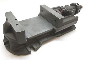 Gem 6 Milling Machine Vise W Screw Type Handle 4