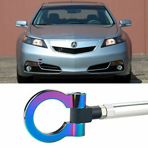 Neo Aluminum Alloy Sporty Front Tow Hook For 2006 2008 Acura Tl Honda Fit S2000