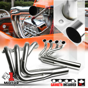 Ss Exhaust Header Manifold For Big Block Chevy Bbc Non water Injection Jet Boat